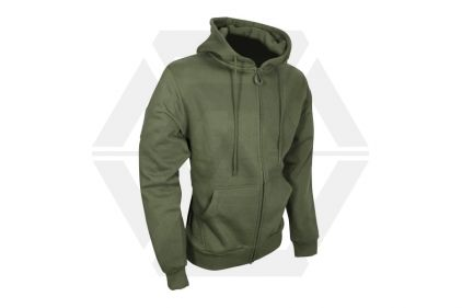 Viper Tactical Zipped Hoodie (Olive) - Size Medium