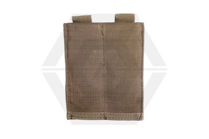 101 Inc MOLLE Elastic Double Pistol Mag Pouch (Coyote Tan) © Copyright Zero One Airsoft
