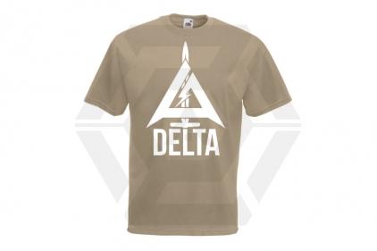 Daft Donkey Special Edition NAF 2018 'Delta' T-Shirt (Tan)