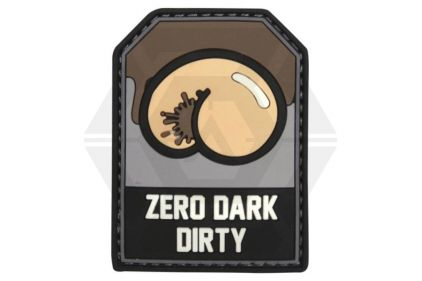 "101 Inc PVC Velcro Patch ""Zero Dark Dirty"""