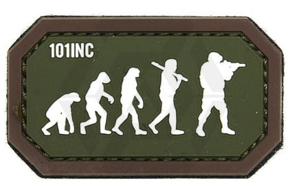 "101 Inc PVC Velcro Patch ""Airsoft Evolution"""