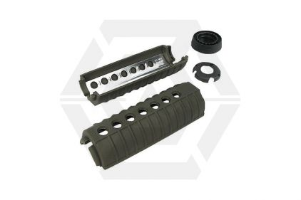 King Arms M4 Handguard (Olive) © Copyright Zero One Airsoft
