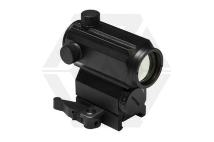 NCS Micro Red/Blue Dot Sight with High QR Mount