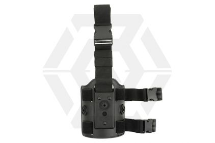 Amomax Drop Leg Platform for Rigid Polymer Holster (Black) © Copyright Zero One Airsoft