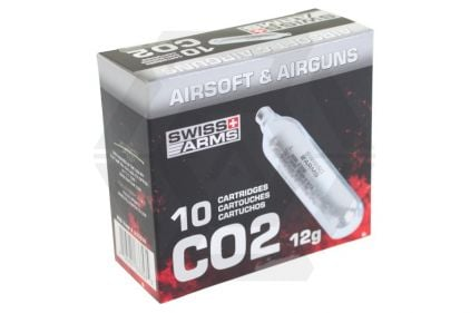 Swiss Arms 12g CO2 Capsule Pack of 10 (Bundle)