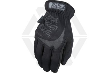 Mechanix Covert Fast Fit Gloves (Black) - Size Small © Copyright Zero One Airsoft