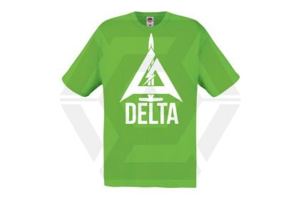 Daft Donkey Special Edition NAF 2018 'Delta' T-Shirt (Lime Green)