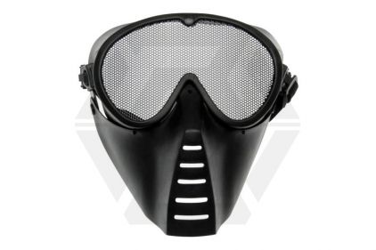 ASG Mesh Full Face Mask (Black) © Copyright Zero One Airsoft