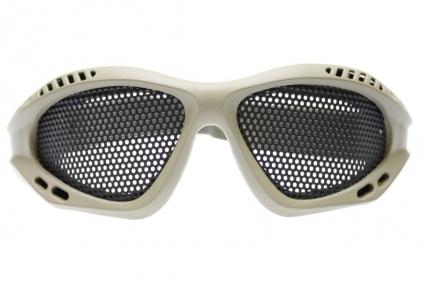 *Clearance* EB Mesh Goggles (Tan)