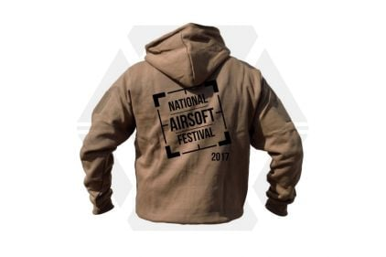 Daft Donkey Special Edition 'NAF 2017' Viper Zipped Hoodie (Coyote Tan)
