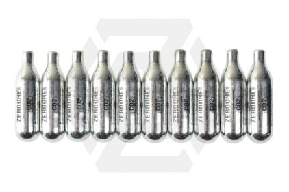Zero One 8g CO2 Capsule Pack of 10 (Bundle) © Copyright Zero One Airsoft