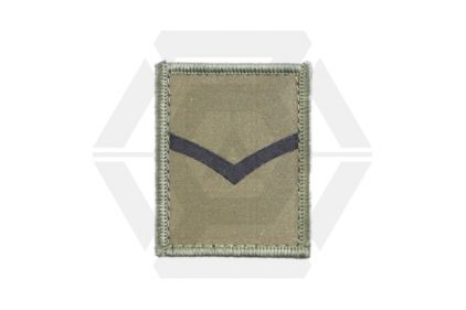Helmet Rank Patch - L/Cpl (Subdued) © Copyright Zero One Airsoft