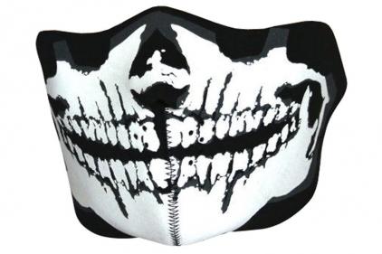 Viper 'Skull' Neoprene Half Face Mask © Copyright Zero One Airsoft