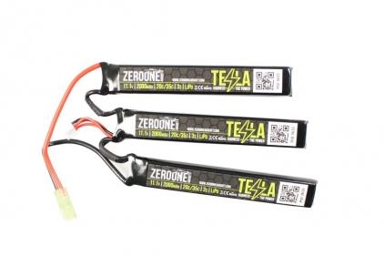 Zero One 11.1v 2000mAh 15C LiPo Triplet Battery © Copyright Zero One Airsoft