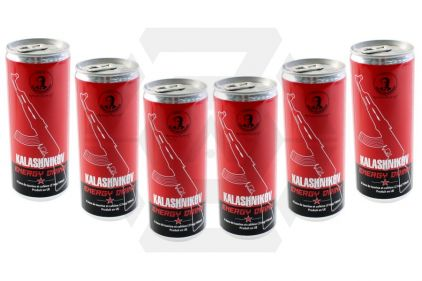 Kalashnikov Energy Drink Pack of 6 (Bundle)