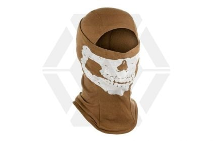 Invader Gear Skull Balaclava (Coyote Brown)
