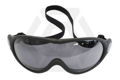 Blueye Tactical Goggles High Altitude with Black Frame & Smoke Lens