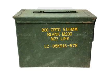 Ammo Box for 5.56mm (Genuine Used) © Copyright Zero One Airsoft