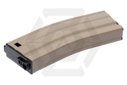 G&G AEG Mag for M4 125rds (Tan) © Copyright Zero One Airsoft