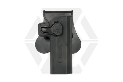 Amomax Rigid Polymer Holster for Hi-Capa (Black) © Copyright Zero One Airsoft
