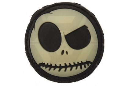 "VOS PVC Velcro Patch ""Nightmare Smiley"""