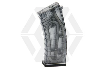 G&G AEG Mag for AK RK74 115rds (Tinted)