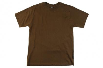 Mil-Com Plain T-Shirt (Olive) - Size Small