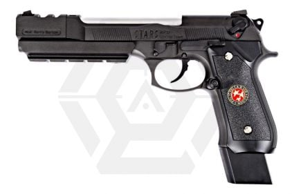 WE GBB M92 BioHazard Extended (Black) © Copyright Zero One Airsoft