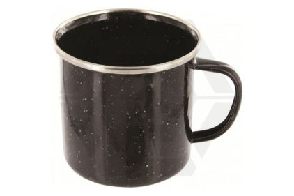Highlander Deluxe Enamel Mug (Black) | £1.95