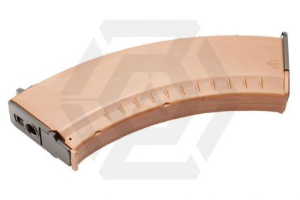 G&G AEG Mag for AK 600rds (74 Type) (Brown)