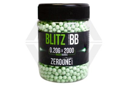 Zero One Blitz BB Tracer 0.20g 2000rds (Green Glow)