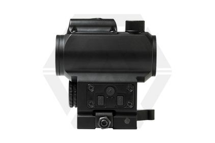 NCS Micro Red/Blue Dot Sight with Integrated Green Laser and High QR Mount