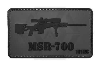 "101 Inc PVC Velcro Patch ""MSR-700"" © Copyright Zero One Airsoft"