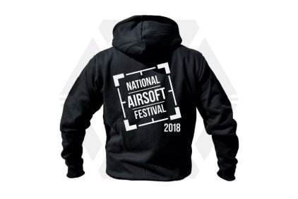 Daft Donkey Special Edition NAF 2018 'Original Logo' Viper Zipped Hoodie (Black)