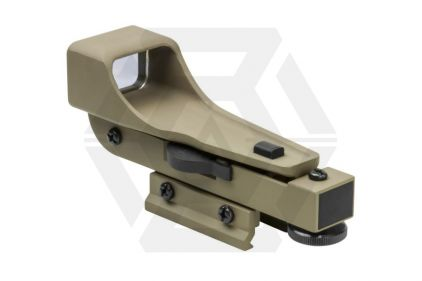 NCS IPSC Reflex Red Dot with Integral RIS Mount (Tan)