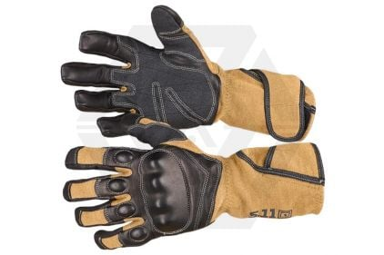 5.11 XPRT Hard Time Gloves (Coyote Brown) - Size Extra Large