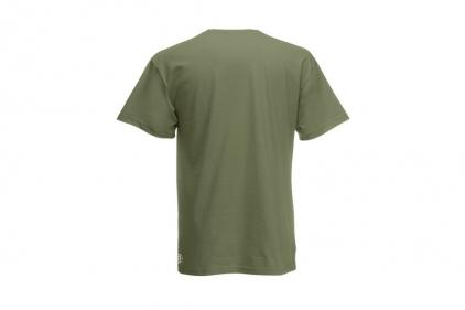 Daft Donkey T-Shirt 'Subdued Like Airsoft' (Olive) - Size Extra Large