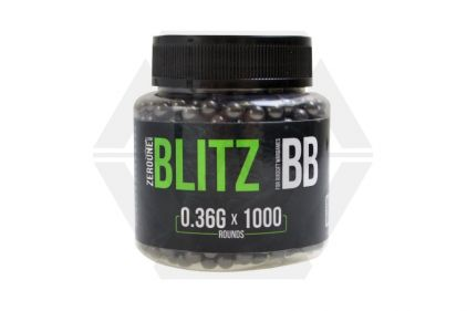 Zero One Blitz BB 0.36g 1000rds (Black)