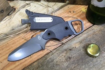 Gerber Epic Knife with Reversible Pocket Clip