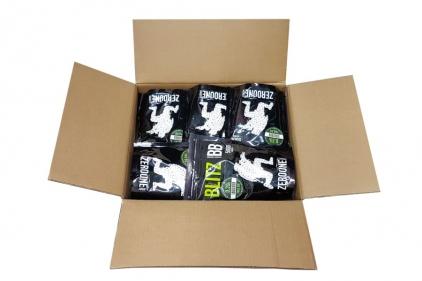 Zero One Blitz Bio BB 0.20g 5000rds (White) Carton of 20 (Bundle) © Copyright Zero One Airsoft