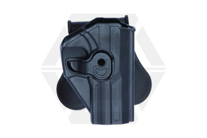 ASG Rigid Polymer Holster for USG (Black)