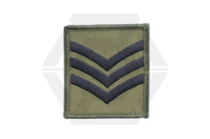 Helmet Rank Patch - Sgt (Subdued) © Copyright Zero One Airsoft