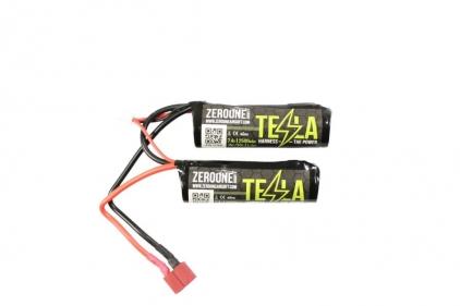 Zero One Tesla Battery 7.4v 2500mAh 15C Li-Ion (Nunchuck) © Copyright Zero One Airsoft