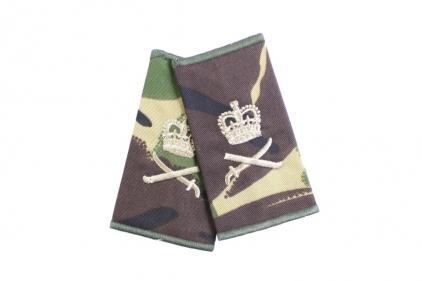 Rank Slide Pair (DPM) - Lieutennant General © Copyright Zero One Airsoft