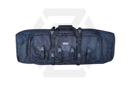 Humvee Rifle Case with Side Pouches & Shooting Mat (Black) © Copyright Zero One Airsoft