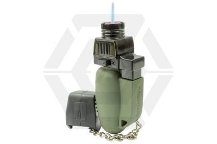 Highlander Turboflame Lighter (Olive) | £8.95