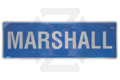 *Clearance* Reflective Marshall Badge Large © Copyright Zero One Airsoft