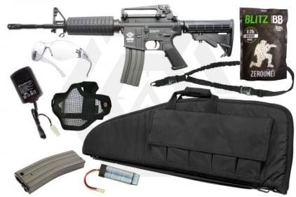 Zero One AEG CM16 Carbine Starter Pack Tier 2 (Bundle)