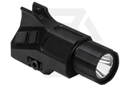 NCS Flashlight with Integrated Front Iron Sight for 20mm Rail
