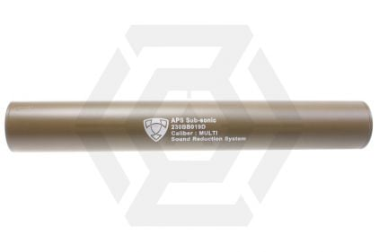APS Suppressor 14mm CW/CCW 230mm (Dark Earth)